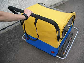 Bicycle Trailer - Safety Leash