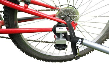 Bicycle Trailer - Clamp Assembly