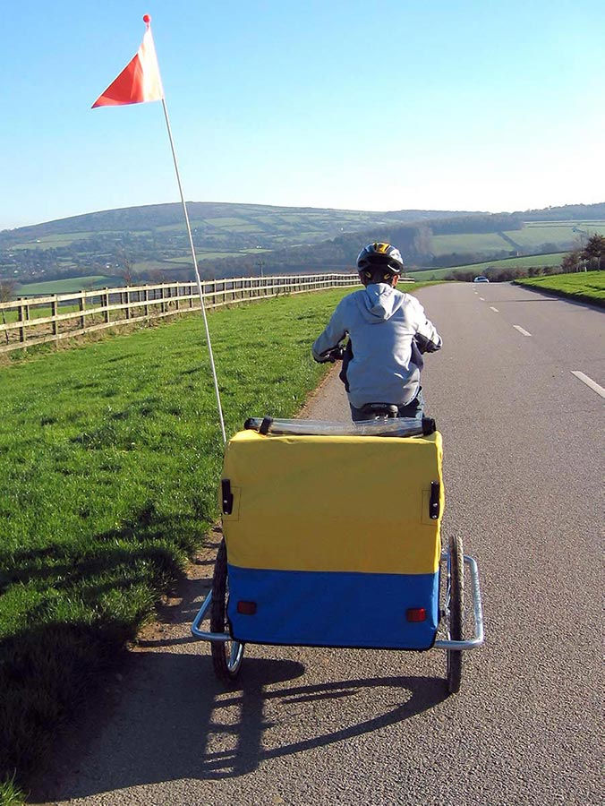 Double-Child-Bike-Trailer